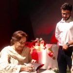 Veteran actress Navid Shahzad launches debut novel Aslan's Roar