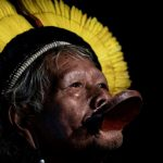 Brazil tribal chief Raoni slams Bolsonaro over Amazon fires
