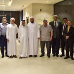 Summit Bank chairman visits bank