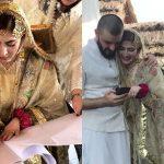 Hamza Ali Abbasi marries artist and actress Naimal Khawar Khan
