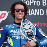Rins snatches British GP win from Marquez at final corner