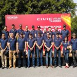 Honda arranges Civic RS Turbo test drive for media officials