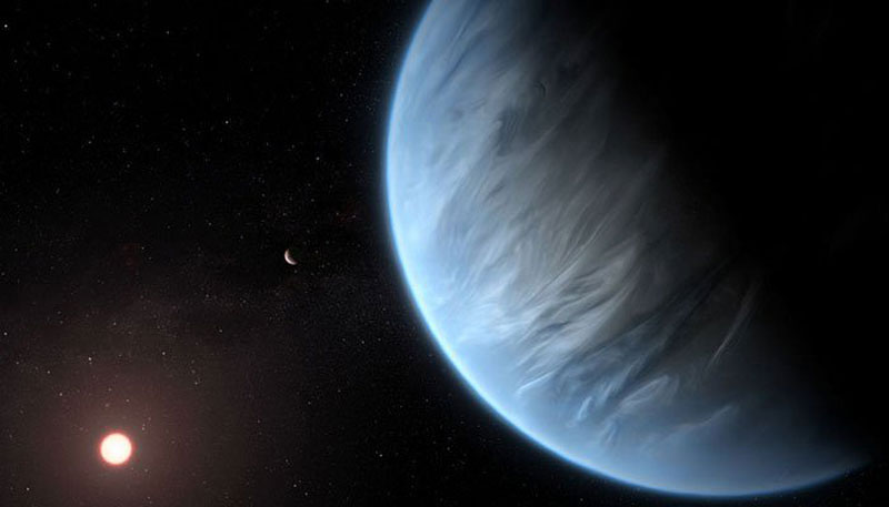 Water found on possible habitable planet