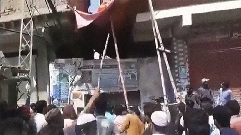 Riots break out in Sindh after Hindu principal is accused of blasphemy