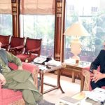 Dr Babar Awan calls on PM