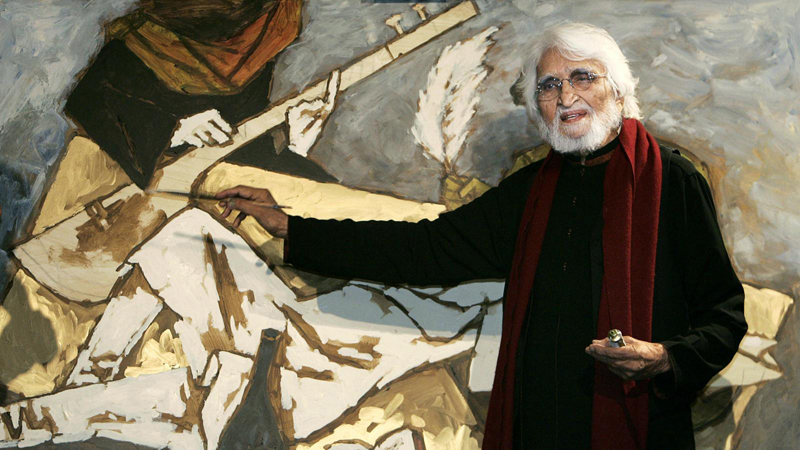 MF Husain's serigraph artworks released online on his 104th birth anniversary