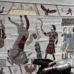 Fire and thread — Bayeux-inspired 'Game of Thrones' tapestry unveiled in France