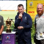 Cyclists deliver Rugby World Cup whistle after 20,000-km journey
