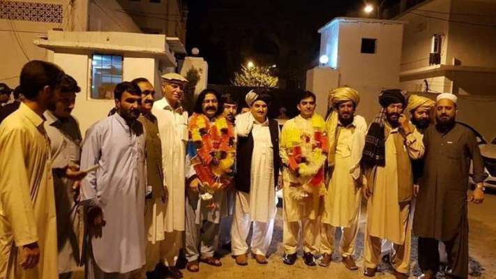 Mohsin Dawar and Ali Wazir released from jail as bail goes into effect