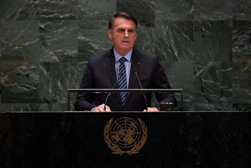 Bolsonaro attacks 'lying' media on Amazon fires, demands respect for Brazil's sovereignty