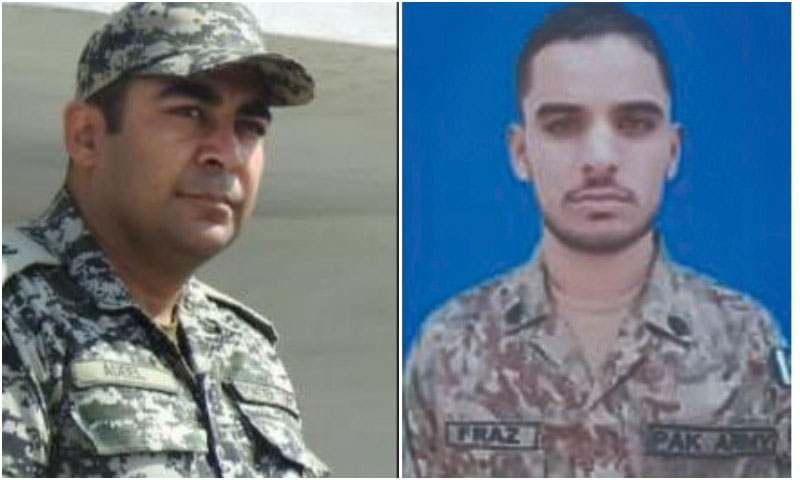 Major among two martyred in blast near Afghan border