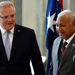 Australia, Fiji attempt to bury climate hatchet