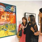 Exhibition Kashmir Bleeds attracts thousands at Alhamra
