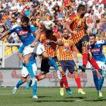 Napoli thrash Lecce to move to third, Roma grab late win at Bologna