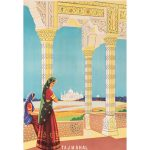Images of the Exotic — exhibition of Indian posters from the 'Golden Age of Travel' held