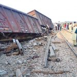 5 bogies of cargo train derailed en-route Karachi