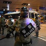 Hong Kong moves to protect police families from protest violence