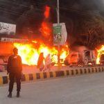 Nine wounded in Quetta as blast targets police van