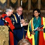 Kings's College confers honorary doctorate degree on Dr Sania