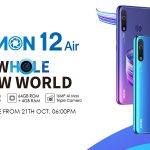 Camon 12 Air- Budget Phone with 4000 mAh battery