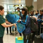 Bangladesh women cricket team arrives in Lahore