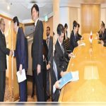 President meets delegation of Japan-Pakistan Parliamentary Friendship League in Tokyo