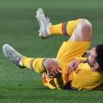 Messi's historic goal helps Barcelona edge Slavia Prague