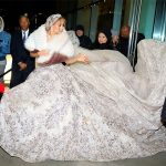 Jennifer Lopez is a fairy tale bride in this extravagant wedding dress