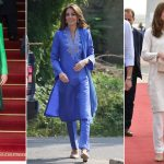 Who were the designers behind Kate Middleton's seven memorable outfits?