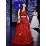 Vaani walks the ramp during Wedding Junction fashion show