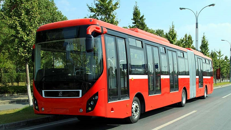 Lahore Metro Bus Service suspended as its unpaid employees go on strike