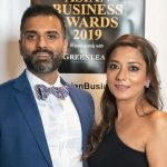 Aida wins the Food Entrepreneur of the Year award at London Asian Business Awards 2019