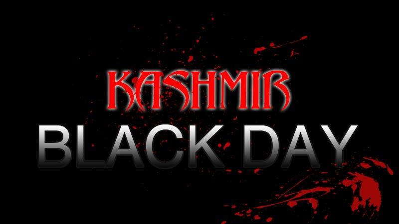 Kashmiris to observe Black Day today