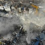 Airstrikes kill 5 in northwest rebel-held Syrian village