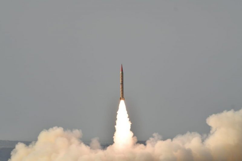 Successful training launch of Shaheen-1 ballistic missile by Pakistan Army