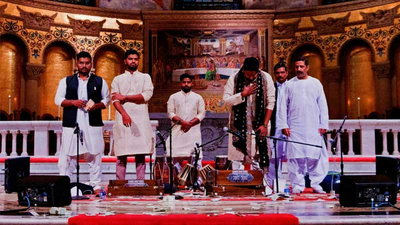 Hamza Akram Qawwal & Brothers become first Pakistanis to perform at Stanford Church