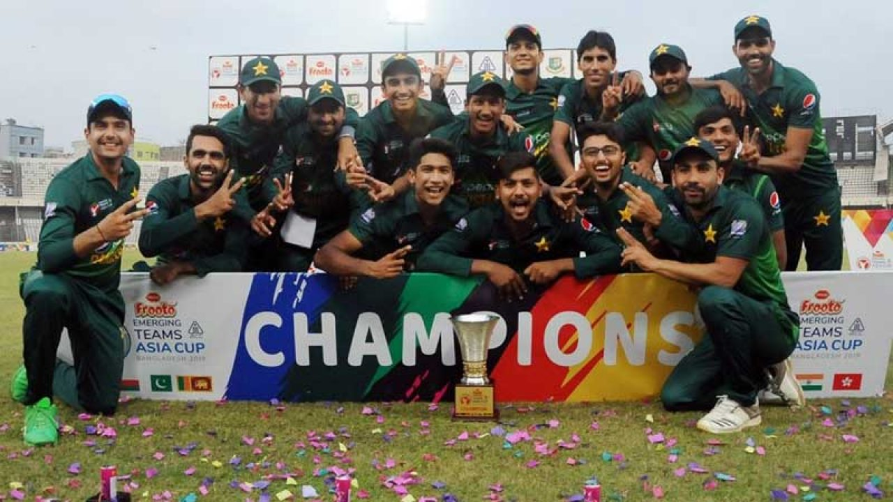 Image result for acc emerging asia cup 2019 Pakistan