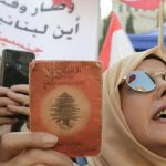 In their mother's country, Lebanon protesters clamour for citizenship