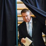 Romania president on top in first-round vote