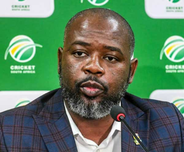 Thabang Moroe: Cricket South Africa suspends chief executive