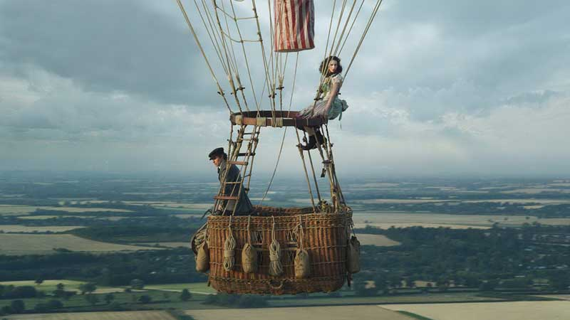 'The Aeronauts' — ballooning biopic goes up, up and away from the facts