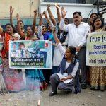 Indian police shoot dead suspects in rape-murder