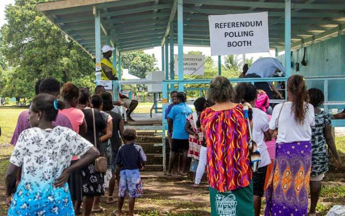 Polls close in historic Bougainville independence vote
