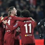 Liverpool stays alive with 2-0 win in Champions League
