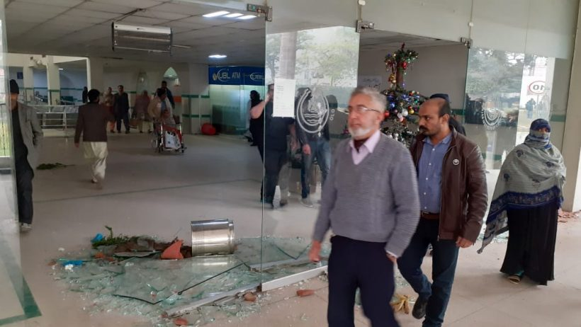 Several injured as lawyers attack Punjab Institute of Cardiology
