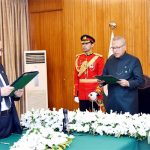 Dr Muhammad Khawar Jameel takes oath as Federal Insurance Ombudsman