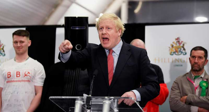 Winning big, Johnson on course to deliver swift Brexit