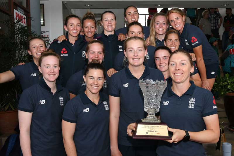 ICC Women's Championship Rain ends third Pakistan v England ODI with no-result
