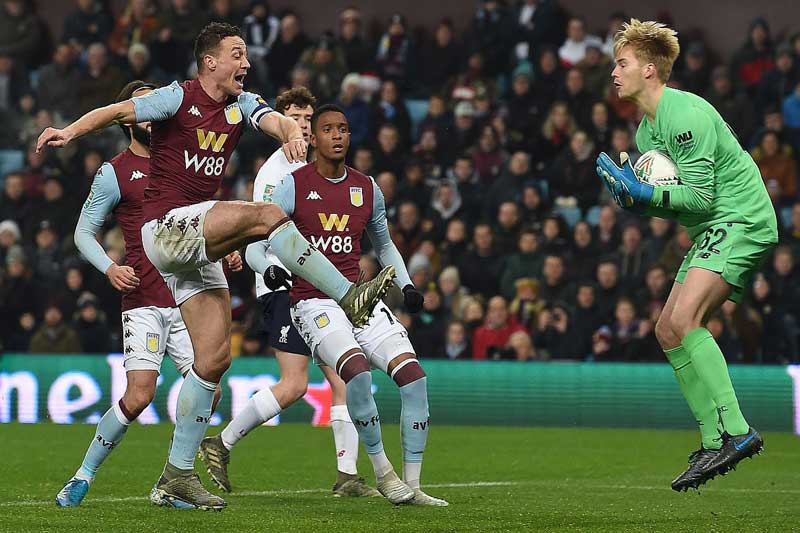 Aston Villa teach Liverpool's kids a lesson