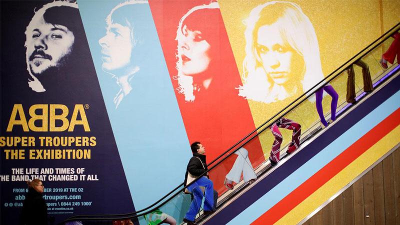 'Super Trouper'  — ABBA exhibition opens in London